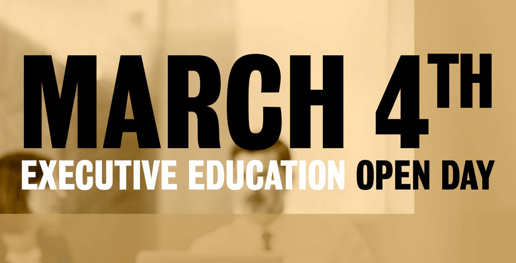 Open Day Executive Education